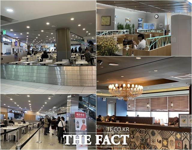 5인이상 집합금지 시행 첫날 서울 시내 식당가는 방문객의 발길이 확연히 줄었다. /문수연 기자