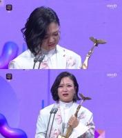 [KBS 연예대상] 김숙, 친정서 '생애 첫' 대상…'1박 2일' 5관왕