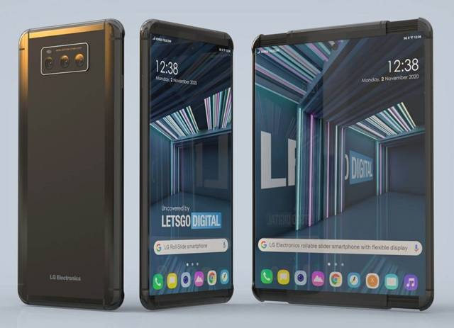 LG 롤러블(사진)은 말린 상태에서 6.8인치, 펼치면 7.4인치의 디스플레이 사용이 가능하다. /레츠고디지털 홈페이지 갈무리