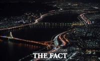 [TF사진관] '아듀 2020', 희망의 불빛 반짝이는 서울 도심