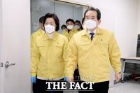 [TF포토] 동부구치소 방문한 정세균-추미애