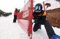 [TF사진관] '스키장 제한적 운영 허용', 재개장 준비로 분주한 스키장