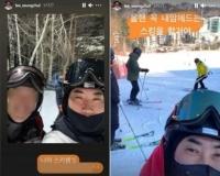 이승철, 스키장 인증샷 논란…결국 SNS 비공개
