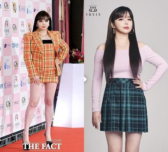 가수 박봄이 다이어트로 11kg을 빼고 건강을 되찾고 있다며 컴백을 기대해 달라고 전했다. /더팩트 DB, 쥬비스 제공