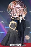 [TF사진관] 박소담-이승기, 2021 골든디스크 MC 호흡