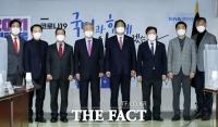 [TF사진관] 김종인, K-방역 실질적 대처 미흡 '정부가 정치적으로 이용'