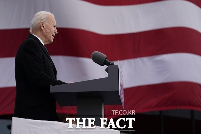 조 바이든 미국 제46대 대통령이 21일 공식 임기를 시작하는 가운데 새로운 미국의 대한반도 정책에 관심이 쏠린다. /AP·뉴시스