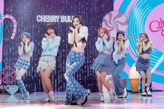 걸그룹 체리블렛이 20일 첫 미니 앨범 체리 러시 발표 온라인 쇼케이스를 개최했다. /FNC엔터 제공