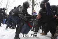 '나발니를 석방하라!'...러시아 전역에서 이어지는 시위 [TF사진관]