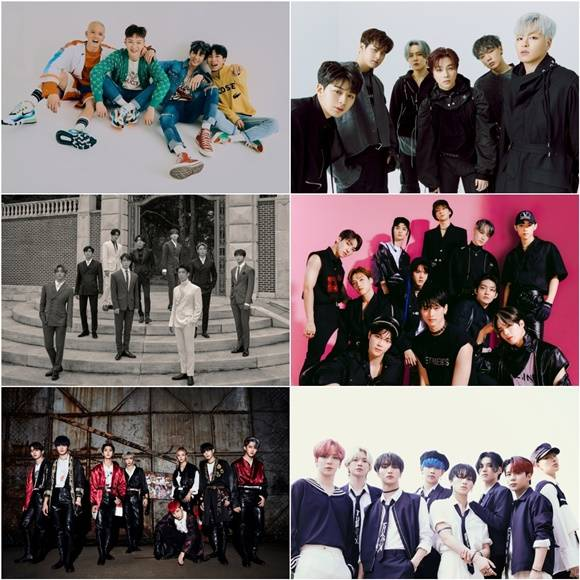 킹덤은 비투비, 아이콘, SF9, 스트레이키즈, 더보이즈, 에이티즈 등 탄탄한 팬덤을 보유한 여섯 아이돌 그룹과 함께 꾸며진다. /Mnet 제공