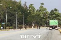 다시 쿠데타 발생...'긴장감 흐르는 미얀마' [TF사진관]