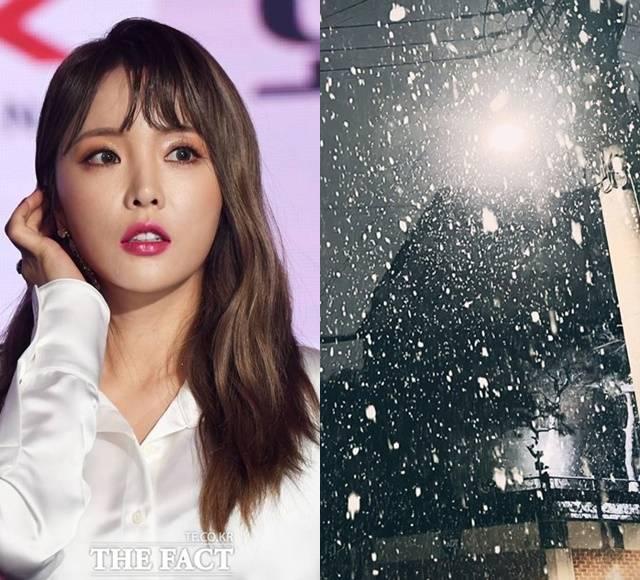 가수 홍진영이 SNS에 새 게시물을 업로드했다. 논문 표절 관련 사과문 이후 약 2개월여 만이다. /더팩트 DB, 홍진영 SNS 캡처
