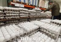 계란 가격 안정화 위해 대형마트에 등장한 미국산 계란 [TF사진관]