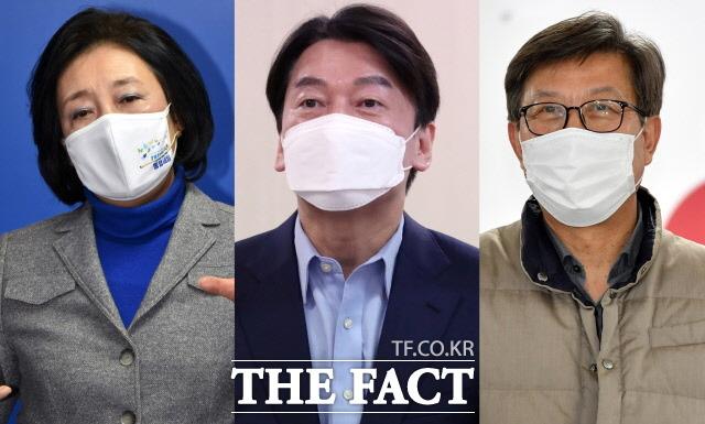 설 연휴 이후 4·7 재보궐선거 열기가 더욱 뜨거워지는 가운데 서울·부산 유력 후보에 관심이 몰리고 있다. /국회사진취재단·뉴시스