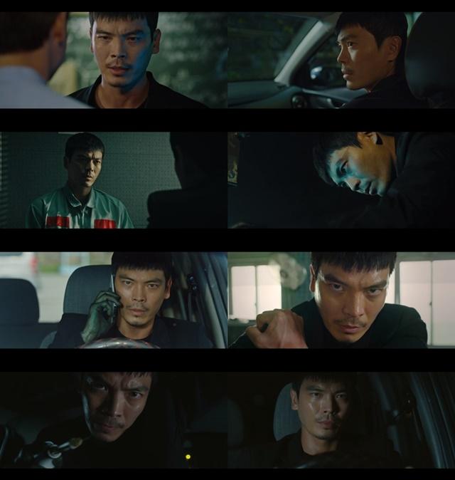 루카에 출연 중인 김성오가 섬뜩한 연기로 극 중 긴장감을 높이고 있다. /tvN 루카 : 더 비기닝 제공
