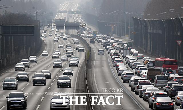 양방향 꾸준히 늘고 있는 차량 안전운전하세요