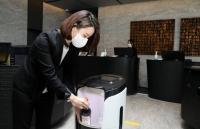 '비대면 수요 확대'…롯데호텔 L7 강남, '딜리버리 로봇' 도입