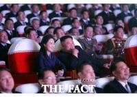 '잠행' 리설주, 1년 만에 김정은과 공개석상 등장