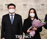 더팩트 송주원 기자, 대한변호사협회 '우수언론인상 수상' [TF사진관]