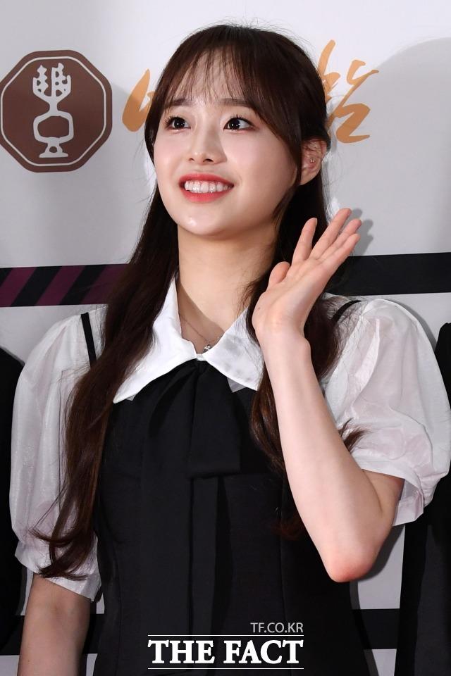 그룹 이달의 소녀 츄의 학교 폭력 의혹이 제기됐으나 소속사가 이를 즉각 부인했다. /남용희 기자