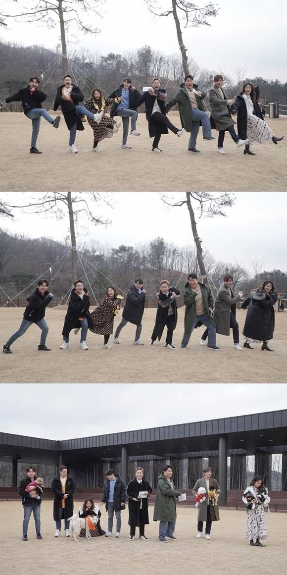 두근두근 레이스는 연예계 대표 애견인 4팀과 그들의 반려견이 함께 정식 어질리티 대회에 도전하는 과정을 그린다. 오는 3월 5일 월요일 첫 방송된다. /MBC에브리원 달려라 댕댕이 제공