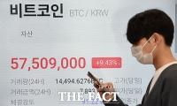 '오르락 내리락'하는 비트코인...'다시 5만 달러선 회복' [TF사진관]