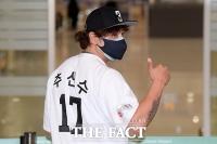 '신세계 야구단 1호' 한국으로 복귀한 추신수 [포토]