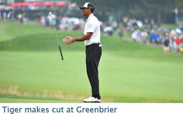 타이거 우즈가 26일(현지시간) 트위터를 통해 후속 수술을 성공적으로 마쳤다고 밝혔다. / PGA 홈페이지