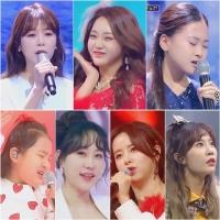 '미스트롯2', 압도적 시청률→음원차트 줄세우기