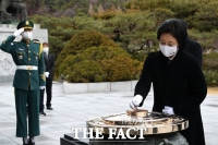 박영선, '최종후보 확정 후 현충탑 참배' [TF사진관]