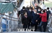 김종인, 도시재생사업지 방문 [TF사진관]