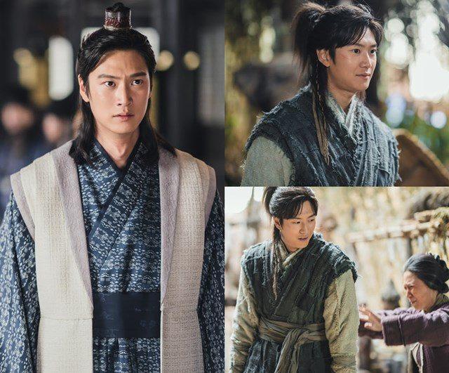 배우 나인우는 지난 8일 방송된 KBS2 월화드라마 '달이 뜨는 강'에 온달 역으로 분해 처음 등장했다. /드라마 스틸컷