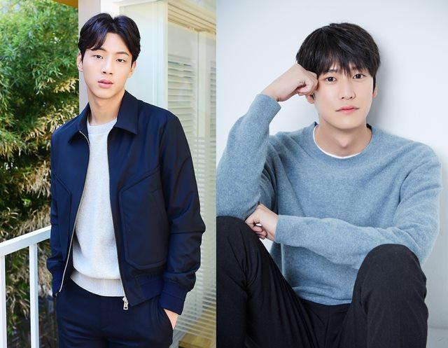 KBS2 월화드라마 '달이 뜨는 강'이 학폭 논란에 휘말린 주연배우 지수(왼쪽)의 하차를 전격 결정하고 배우 나인우를 온달 역으로 교체 투입했다. /더팩트DB, 큐브엔터테인먼트 제공