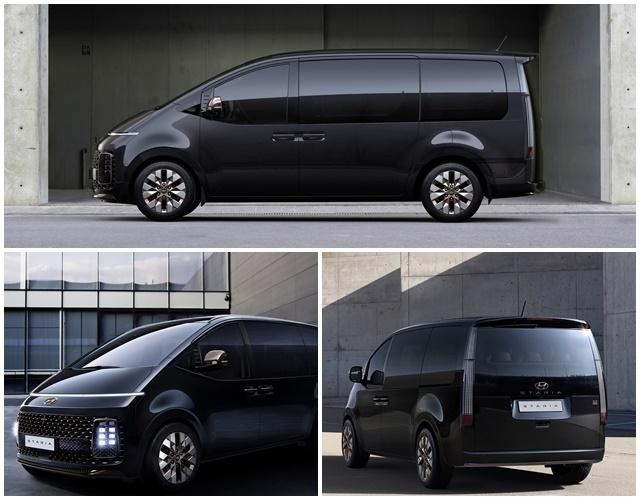 스타리아는 현대차의 미래 모빌리티 디자인 테마 인사이드 아웃을 반영한 모델이다. /현대차 제공
