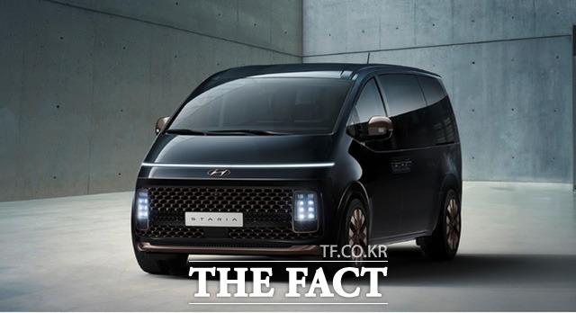 현대자동차가 새로운 MPV(다목적 차량, Multi-Purpose Vehicle), 프리미엄 크루저(cruiser) 스타리아의 내·외장 이미지를 18일 세계 최초로 공개했다. /현대자동차 제공