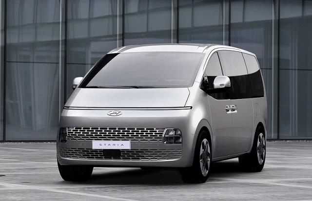현대차가 상반기 출시를 앞둔 새로운 MPV 스타리아의 내·외장 디자인을 최초로 공개했다. /현대차 제공