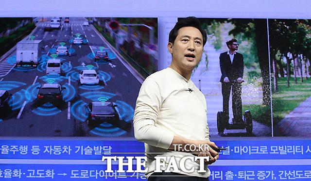 단일화 비전발표 하는 오세훈 국민의힘 서울시장 후보 /국회사진취재단