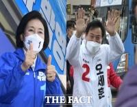 박영선 vs 오세훈, 유세전 시작…