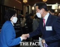 오세훈 55.0%-박영선 36.5%…공식 선거운동 시작