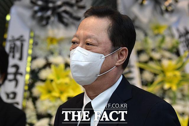 박용만 두산인프라코어 회장.