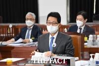 박지원, '국정원 불법사찰 자체 진상규명 경과 보고' [TF사진관]
