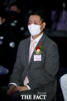 SSG 랜더스 창단식 참석한 송호섭 스타벅스코리아 대표 [포토]