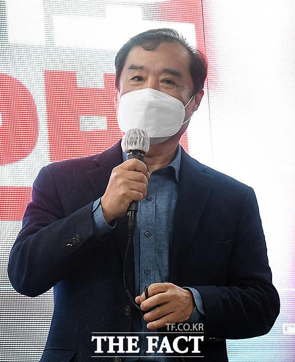 김병준 전 자유한국당 비상대책위원장.
