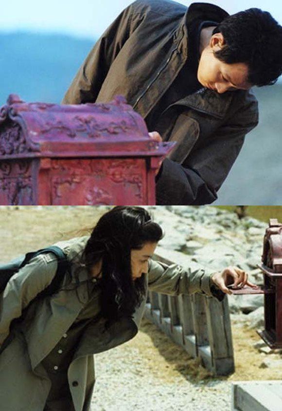 영화 시월애(주연 이정재, 전지현)가 28일 재개봉해 영화 팬들 곁으로 돌아온다. /영화 스틸컷