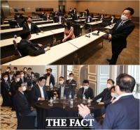 민주당 초·재선, '당 재건 위해 뭉친다' [TF사진관]
