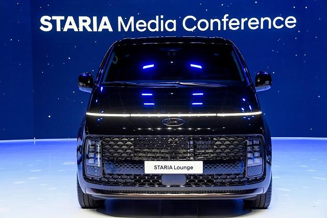 '우주선 닮은꼴' 현대차 '스타리아' 최초 공개…15일부터 판매