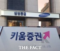 삼성 vs 키움…증권株 호황에 시총 2위 자리 놓고 '치열'