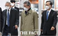 125차 공판 출석하는 양승태-고영한-박병대 [TF사진관]