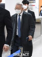 공판 출석하는 양승태 전 대법원장 [포토]