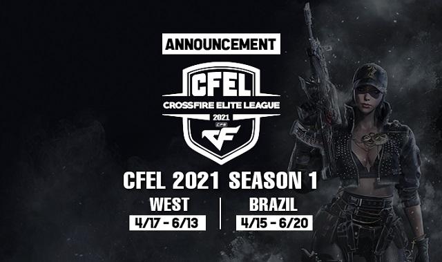 스마일게이트 '브라질·웨스트 CFEL 2021 시즌1 개막'